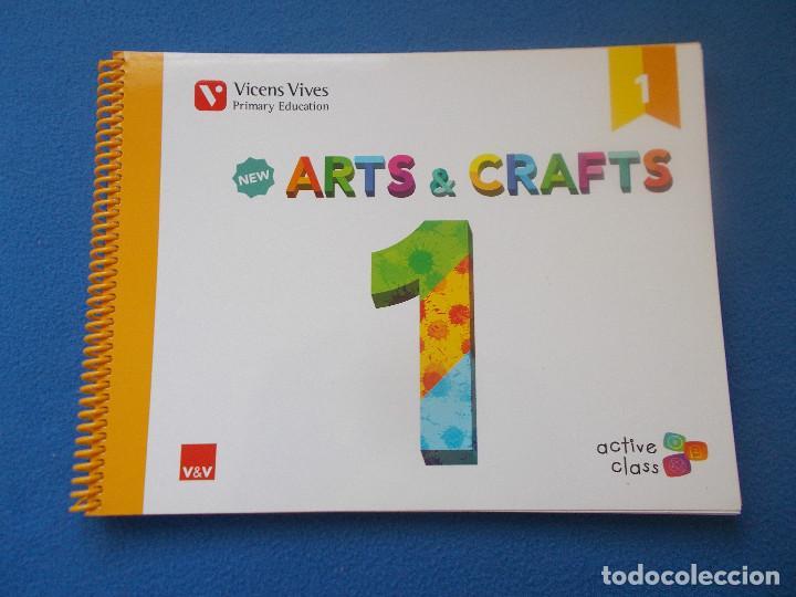 .ARTS ANDCRAFTS 1 - VICENS VIVES - ( SIN ESTRENAR ) (Libros Nuevos - Libros de Texto - Infantil y Primaria)