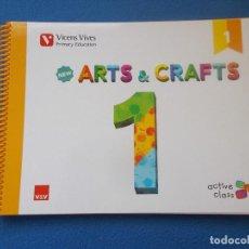 Libros: .ARTS ANDCRAFTS 1 - VICENS VIVES - ( SIN ESTRENAR ). Lote 171734525