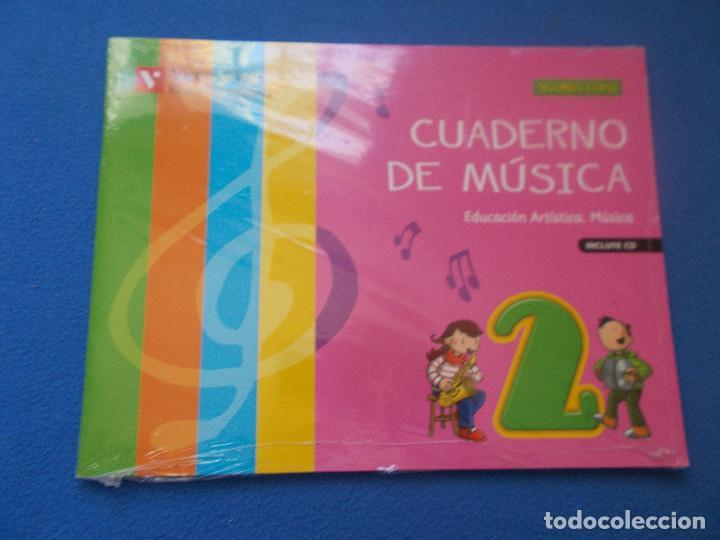 .CUADERNO DE MUSICA 2º CURSO DE PRIMARIA Y CD - VICENS VIVES - ( SIN ESTRENAR ) (Libros Nuevos - Libros de Texto - Infantil y Primaria)