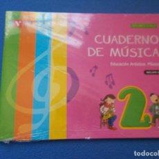Libros: .CUADERNO DE MUSICA 2º CURSO DE PRIMARIA Y CD - VICENS VIVES - ( SIN ESTRENAR ). Lote 171735063