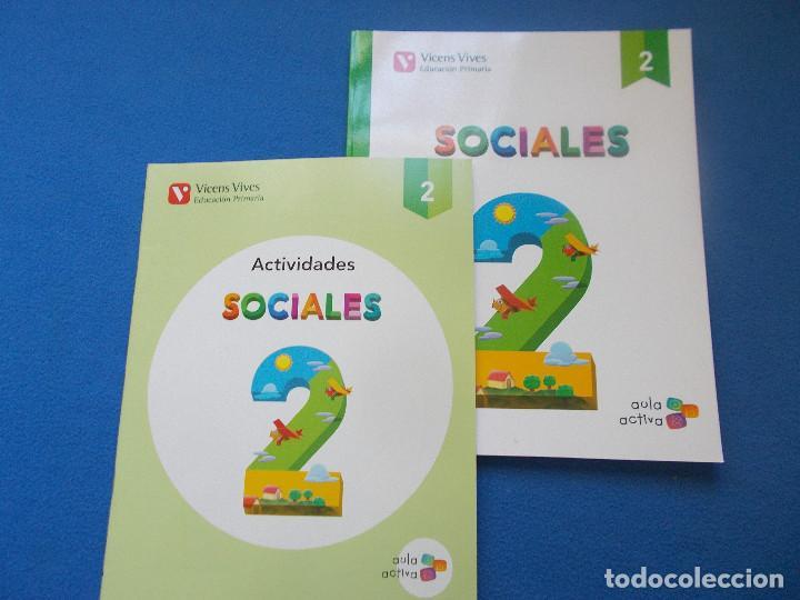 SOCIALES ( AULA ACTIVA ) 2º PRIMARIA - VICENS VIVES( SIN ESTRENAR ) (Libros Nuevos - Libros de Texto - Infantil y Primaria)