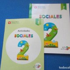 Libros: SOCIALES ( AULA ACTIVA ) 2º PRIMARIA - VICENS VIVES( SIN ESTRENAR ). Lote 171739074