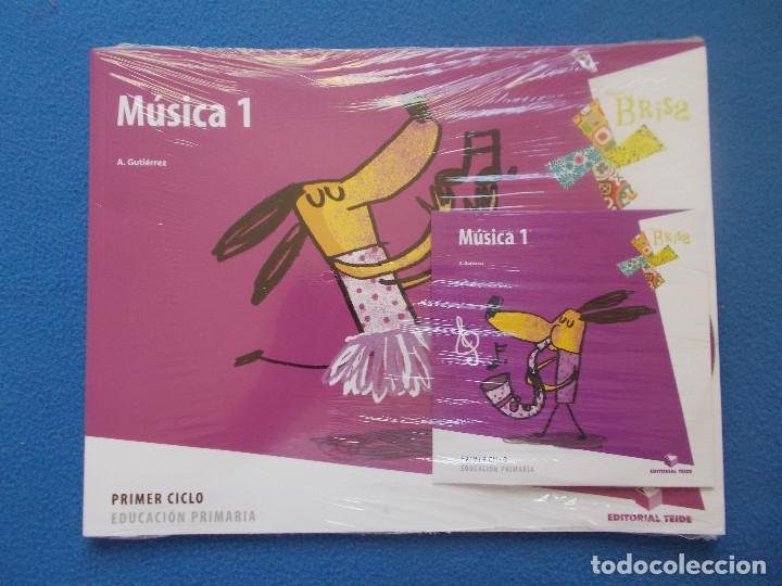 MUSICA 1 . EDITORIAL TEIDE ( NUEVO ) (Libros Nuevos - Libros de Texto - Infantil y Primaria)