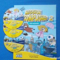 Libros: MISSION ACOMPLISHED 2 - PUPIL´S BOOK - ANAYA - ENGLISH ( SIN ESTRENAR ). Lote 172308897