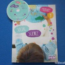 Libros: SOCIAL SCIENCE 1 - ANAYA - ENGLISH ( SIN ESTRENAR ). Lote 172309625