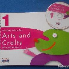Libros: ARTS AND CRAFTS 1 - ANAYA - ENGLISH ( SIN ESTRENAR ). Lote 172310824