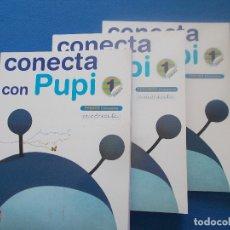 Livres: CONECTA CON PUPI 1 EDITORIAL SM. Lote 172429738