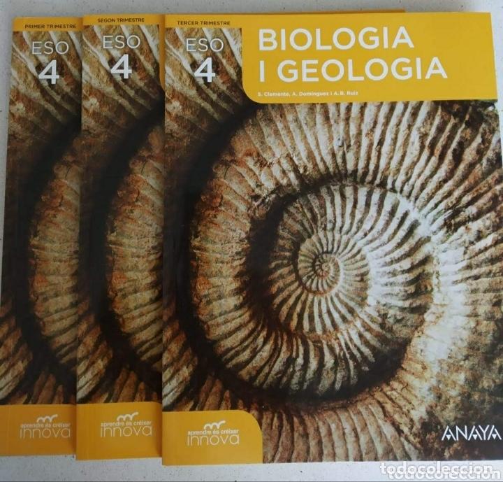 Biologia I Geología 4 Cuarto Eso En Valencià Comprar Libros Eso En Todocoleccion 172459972