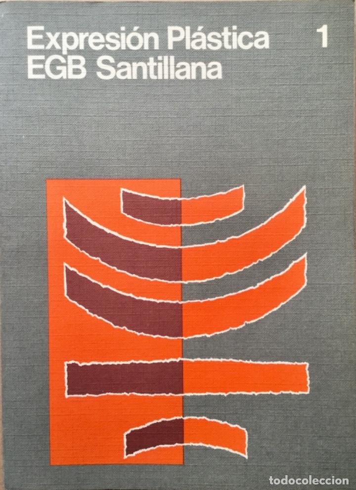EXPRESION PLÁSTICA 1ª EGB. SANTILLANA. NUEVO (Libros Nuevos - Libros de Texto - Infantil y Primaria)