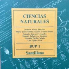 Libros: CIENCIAS NATURALES 1º BUP SANTILLANA. NUEVO. Lote 196640148