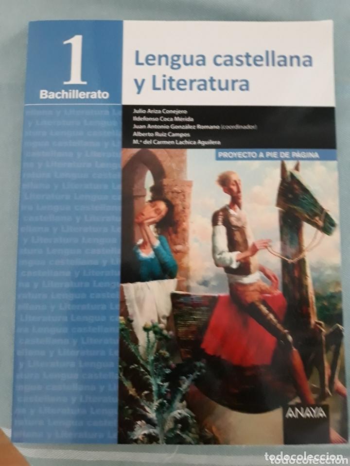 LENGUA CASTELLANA Y LITERATURA, 1 BACHILLERATO, ANAYA (Libros Nuevos - Libros de Texto - Bachillerato)