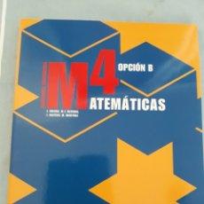 Libros: MATEMÁTICAS 4 OPCIÓN B, ANAYA.. Lote 172889033