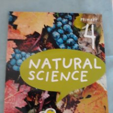 Libros: NATURAL SCIENCE, 4 PRIMARY, ANAYA. Lote 172889135
