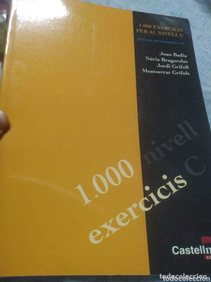LIBRO TEXTO 1000 EXERCICIS NIVEL C DE CATALÀ CATALANED CASTELLNOU (Libros Nuevos - Libros de Texto - ESO)