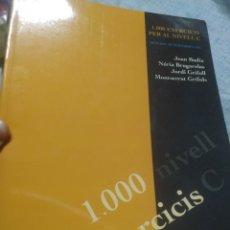 Libros: LIBRO TEXTO 1000 EXERCICIS NIVEL C DE CATALÀ CATALANED CASTELLNOU. Lote 173873949