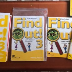 Livres: FIND OUT 3 ( 3º DE PRIMARIA ) - MACMILLAN. Lote 174237549
