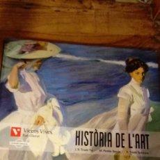 Libros: HISTÒRIA DE L'ART. ED. VICENS VIVES. BATXILLERAT BACHILLERATO (CAT). Lote 174962345