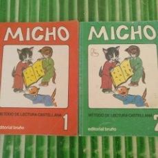 Libros: LOTE MICHO 1 Y 2. Lote 175085507
