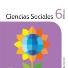 Libros: CIENCIAS SOCIALES 6 PRIMARIA SABER HACER CONTIGO. Lote 175172993