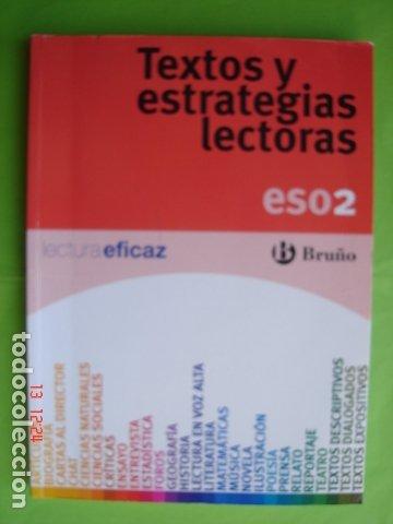TEXTOS Y ESTRATEGIAS LECTORAS. 2º ESO. ED. BRUÑO. VARIOS AUTORES. 2010 (Libros Nuevos - Libros de Texto - ESO)