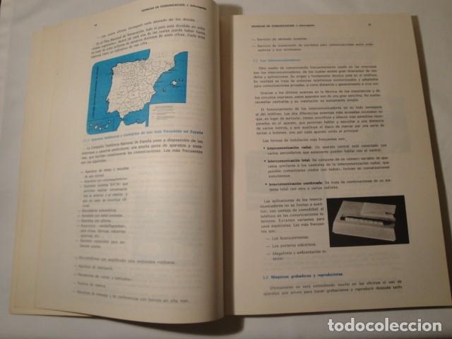 Libros: Técnicas de Comunicación. Información 1º Grado. Formación Profesional, Primer Curso. Año 1976. Nuevo - Foto 3 - 176693967