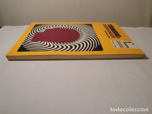 Libros: Técnicas de Comunicación. Información 1º Grado. Formación Profesional, Primer Curso. Año 1976. Nuevo - Foto 9 - 176693967