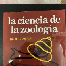 Libros: LA CIENCIA DE LA ZOOLOGIA. Lote 176782430