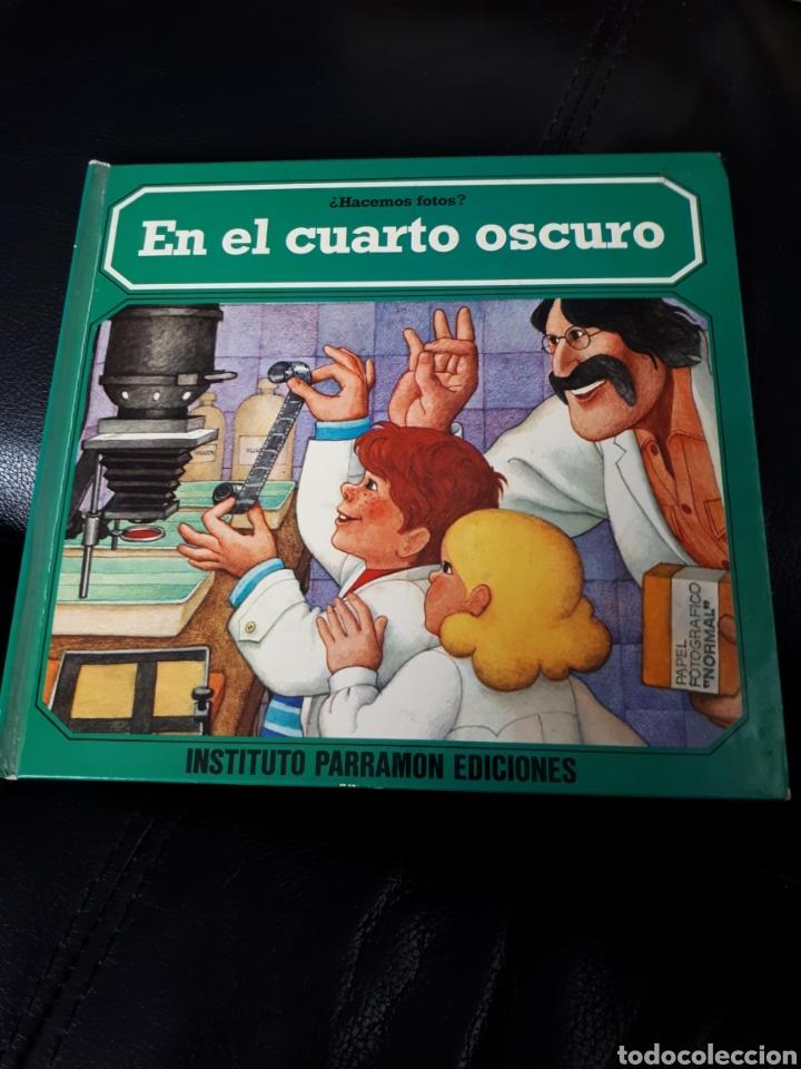 HACEMOS FOTOS. EN EL CUARTO OSCURO. EDITORIAL PARRAMON. AÑO 1979. PRIMERA EDICION (Libros Nuevos - Libros de Texto - ESO)
