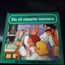 Livres: HACEMOS FOTOS. EN EL CUARTO OSCURO. EDITORIAL PARRAMON. AÑO 1979. PRIMERA EDICION. Lote 176911664