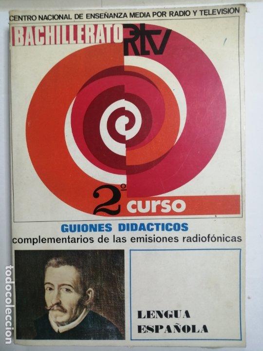 LIBRO DE TEXTO 2º BACHILLERATO DE LENGUA. GUIONES DIDACTICOS. (Libros Nuevos - Libros de Texto - Bachillerato)