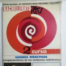 Libros: LIBRO DE TEXTO 2º BACHILLERATO DE LENGUA. GUIONES DIDACTICOS. . Lote 177765637