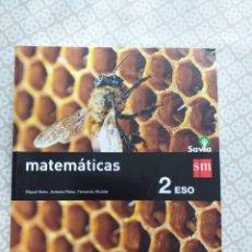 Livres: MATEMATICAS 2° ESO SAVIA. Lote 177873795