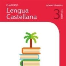 Libros: CUADERNO LENGUA 3 PRIMARIA 1 TRIM SABER HACER CONTIGO. Lote 178721091