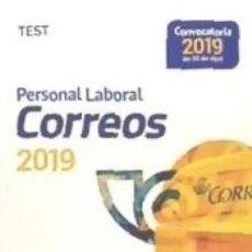 Libros: PERSONAL LABORAL DE CORREOS Y TELÉGRAFOS. TEST. Lote 178944093
