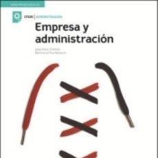 Libros: LA - EMPRESA Y ADMINISTRACION GM. LIBRO ALUMNO.. Lote 178944500