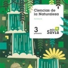 Libros: CIENCIAS DE LA NATURALEZA. 3 PRIMARIA. MAS SAVIA. KEY CONCEPTS. ANDALUCÍA. Lote 178950900