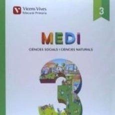 Libros: MEDI 3 SOCIAL I NATURAL (AULA ACTIVA) AMBIT. Lote 179139973