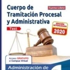 Libros: TRAMITACIÓN PROCESAL Y ADMINISTRATIVA ADMINISTRACIÓN JUSTICIA TURNO LIBRE TEST. Lote 179159510