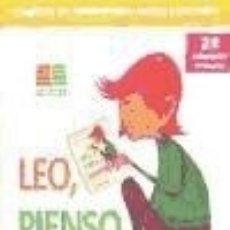 Libros: LEO, PIENSO, COMPRENDO, 2º PRIMARIA. PROGRAMA DE COMPRENSIÓN LECTORA Y ATENCIÓN. Lote 179245201