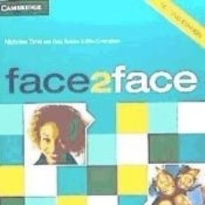 Libros: FACE2FACE INTERMEDIATE WORKBOOK WITH KEY 2ND EDITION. Lote 179248078