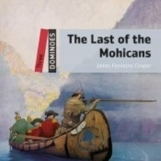 Libros: DOMINOES 3. THE LAST OF THE MOHICANS MP3 PACK. Lote 179399598