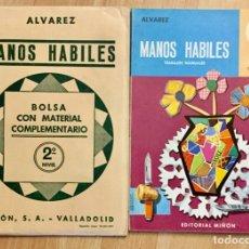 Libros: MANOS HÁBILES 2º MAS BOLSA DE TRABAJO. ALVAREZ MIÑÓN. Lote 179955518