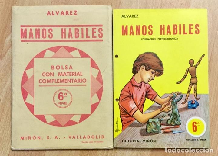 MANOS HÁBILES 6º MÁS BOLSA TRABAJO (Libros Nuevos - Libros de Texto - ESO)
