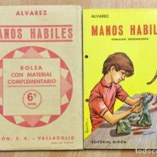 Libros: MANOS HÁBILES 6º MÁS BOLSA TRABAJO. Lote 179955847