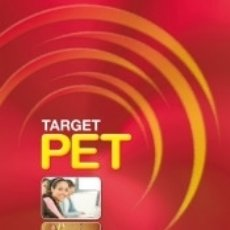 Libros: TARGET PET STUDENTS PACK (SB+CDR). Lote 179956231