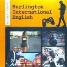 Libros: BURLINGTON INTERNAT.ENGLISH C1 ST 18. Lote 179961800