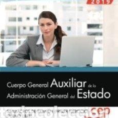 Libros: CUERPO GENERAL AUXILIAR DE LA ADMINISTRACIÓN DEL ESTADO (TURNO LIBRE). SIMULACROS DE EXAMEN (PRIMER. Lote 180005517