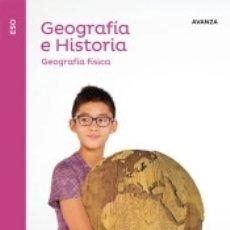 Libros: GEOGRAFIA E HISTORIA ADAPTACION CURRICULAR SERIE AVANZA VERSION C 1 ESO SABER HACER. Lote 180098932