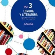 Libros: LENGUA Y LITERATURA 3.. Lote 180106062