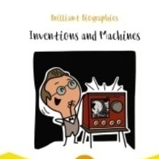 Libros: INVENTIONS AND MACHINES. Lote 180344847